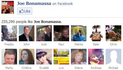 Joe Bonamassa on Facebook. 255,290 people like Joe Bonamassa