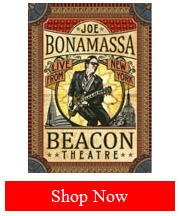Joe Bonamassa Beacon Theater Live From New York DVD